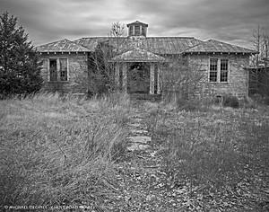 Abandoned School, Near Union Level, Virginia