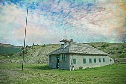 Abandoned Schoolhouse, Chromo, Colorado
