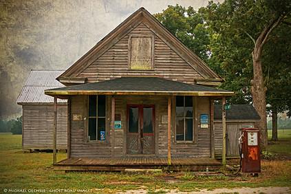 Abandoned Store, White Level, North Carolina