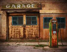 Abandoned Service Station, Scipio, Utah