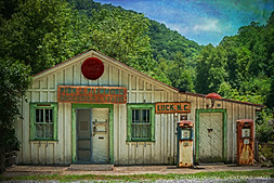 Pink J. Plemmons Groceries and Feeds, Luck, North Carolina