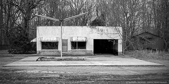 Service Station, Alamance County, North Carolina