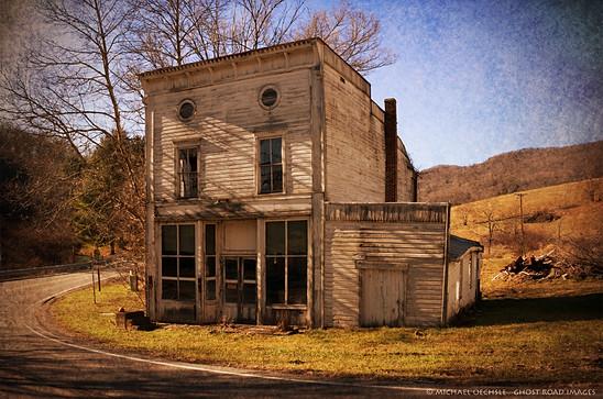 Abandoned Store, Simmonsville, Virginia
