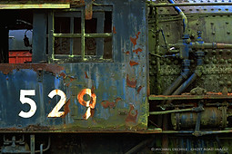 Abandoned Northern Pacific Steam Engine, Snoqualmie, Washington