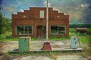 Abandoned Twice, South of Tarboro, North Carolina