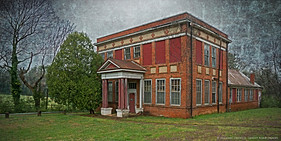 Abandoned School, Charlotte Courthouse, Virginia