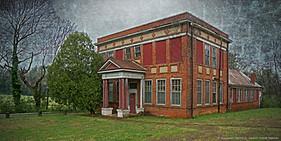 Abandoned School, Charlotte Courthouse, Virginia
