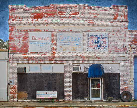 Abandoned Auto Parts Store, Wallace, North Carolina