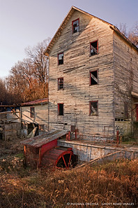 Abandoned Mill, near Wirtz, Virginia