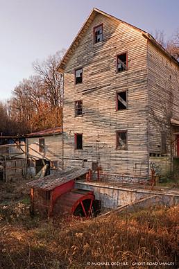 Abandoned Mill, near Wirtz, Virginia