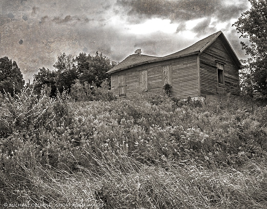 Abandoned School House, Fond-du-Lac County, Wisconsin