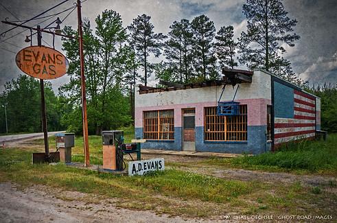 Evan's Gas Station, Warren County, North Carolina