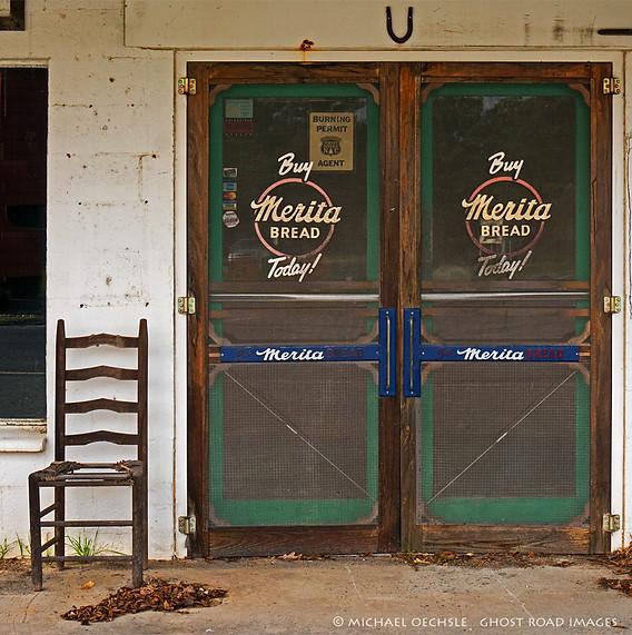 General Store Entrance, Ether, North Carolina