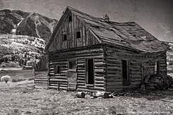 Abandoned Cabin, Near Crested Butte, Colorado