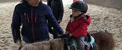 séance baby poney à partir de 3 ans éveil avec les poneys