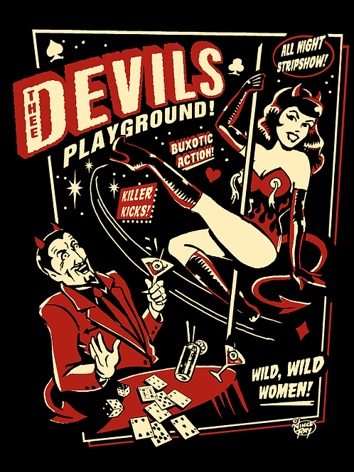 Devil's Playground Long Sleeve T-Shirt