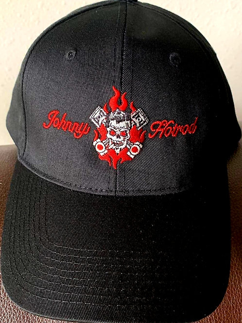 skull and pistons baseball cap