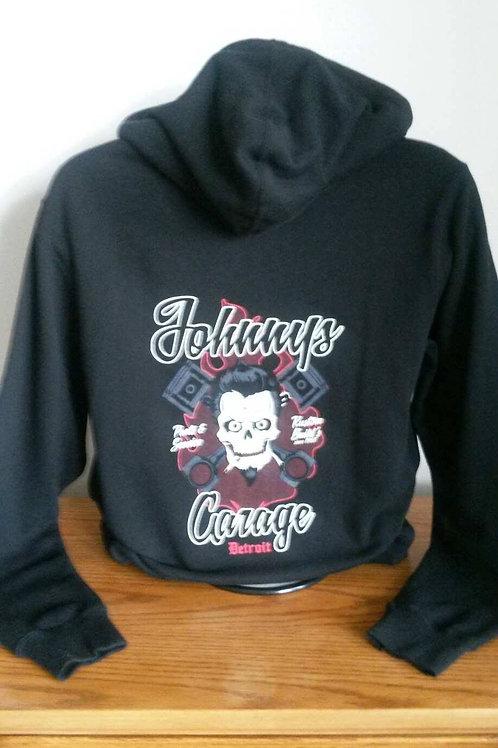 Johnnys Garage Pullover Hoodies