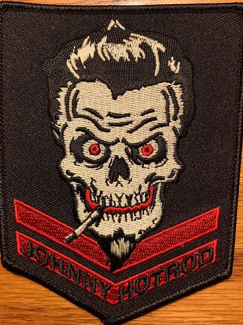 johnny hotrod military patch