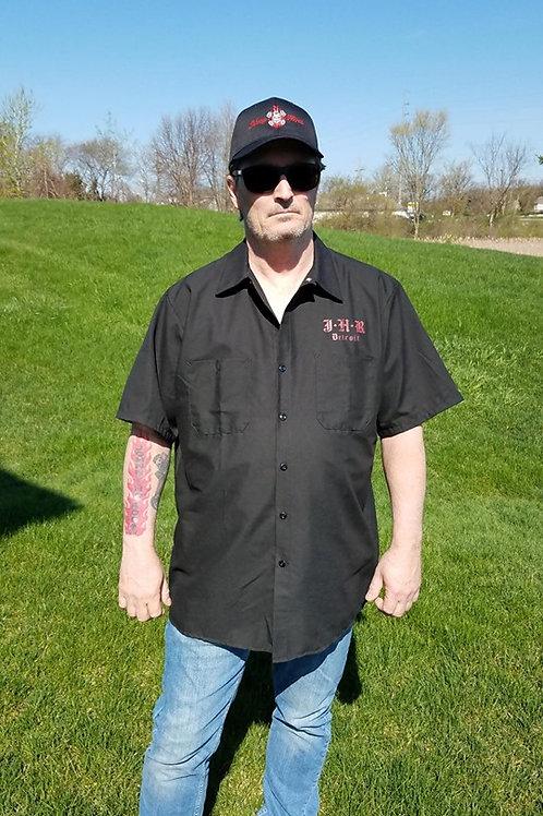 Johnny's Garage Short Sleeve Work Shirt