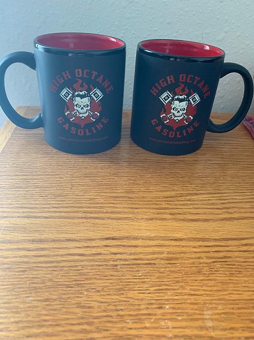 High octane gasoline coffee mug