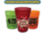 Custom Printed Fluted Collector Plastic Cups