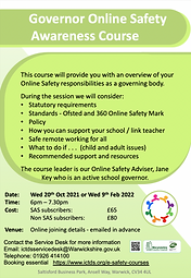 Governor Online Safety Flyer 2021_2022.p