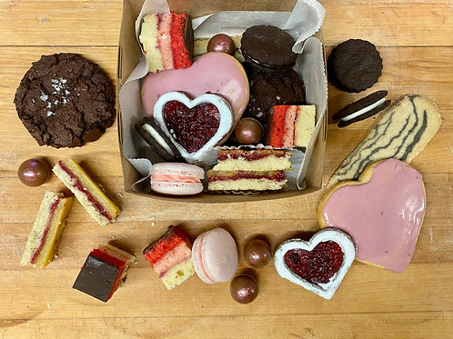 Valentine's Cookie Box (shipped)