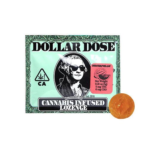 Dollar Dose Lozenge Watermelon 5mgTHC