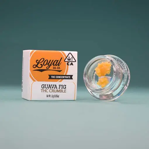 Loyal Oil Co. Crumble Guava Fig 1g (69.33%THC)