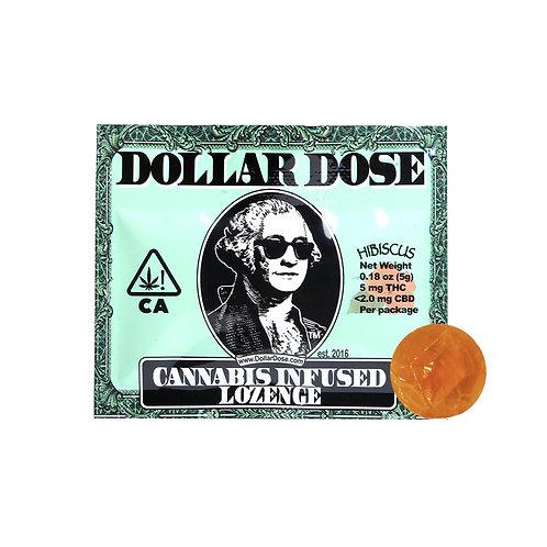 Dollar Dose Lozenge Hibiscus 5mgTHC