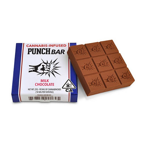 Punch Bar Original Milk Chocolate 90mg THC