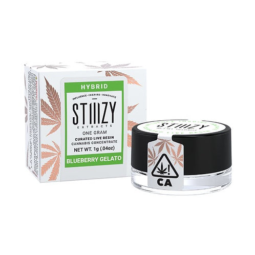 Stiiizy Curated Live Resin Blueberry Gelato 1g (77.82%THC)