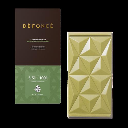 Defonce White Chocolate Matcha Bar 100mgTHC
