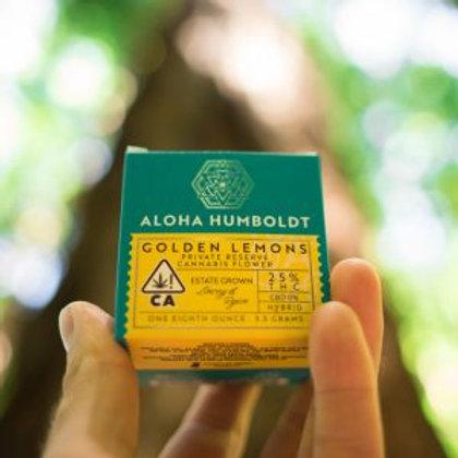 Aloha Humboldt Sungrown Golden Lemons 3.5g (26.66% THC)