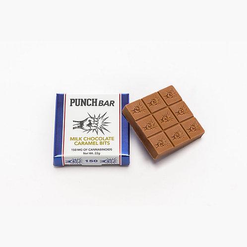 Punch Bar Original Carmel Bits Milk Chocolate 90mg THC