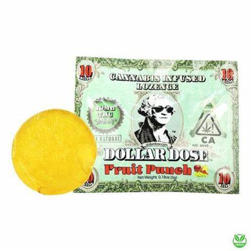 Dollar Dose Lozenge 10-Pack Fruit Punch 100mgTHC