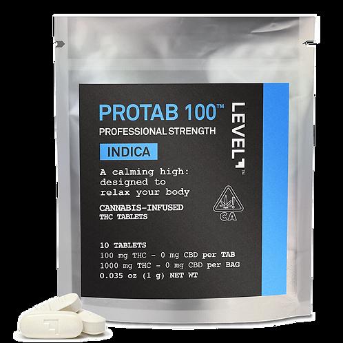 Level Protab 100 Indica 1000mg, 5.05g