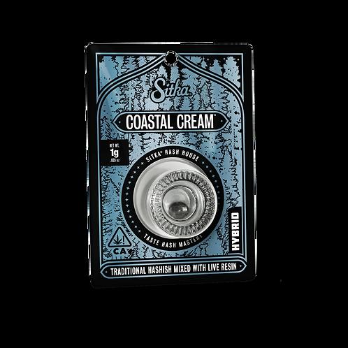 Sitka Hashish Coastal Cream 0.5g (39.25%THC)