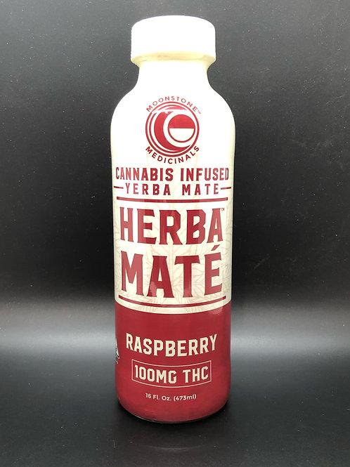 Moonstone Medicinals Herba Mate Raspberry (100mgTHC)