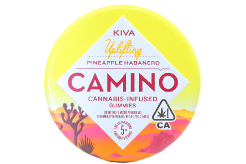 Kiva Camino Gummies Pineapple Habanero 100mgTHC