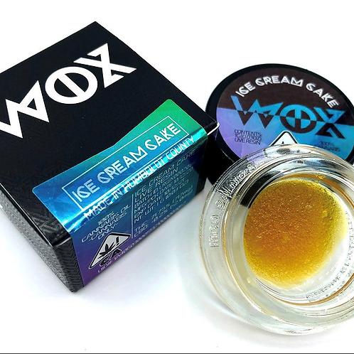 WOX Live Resin Ice Cream Cake 1g (68.48% THC)