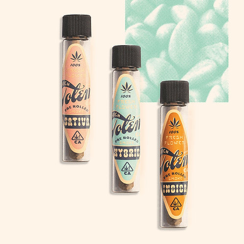 High Totem PreRoll Banana Cream 1g (19.41% THC)