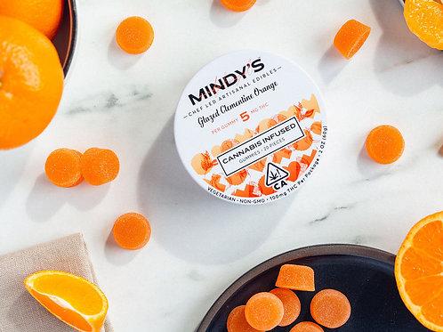 Mindy's Gummy Pack THC Glazed Clementine Orange 100mgTHC