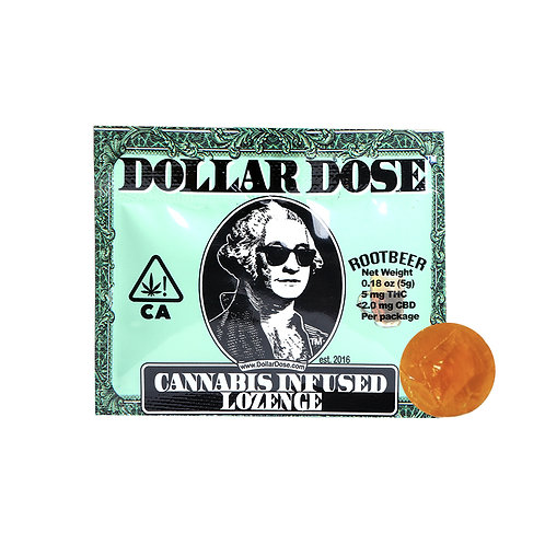 Dollar Dose Lozenge Rootbeer 5mgTHC