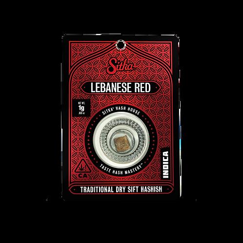 Sitka Hashish Lebanese Red 1g (31.86%THC)