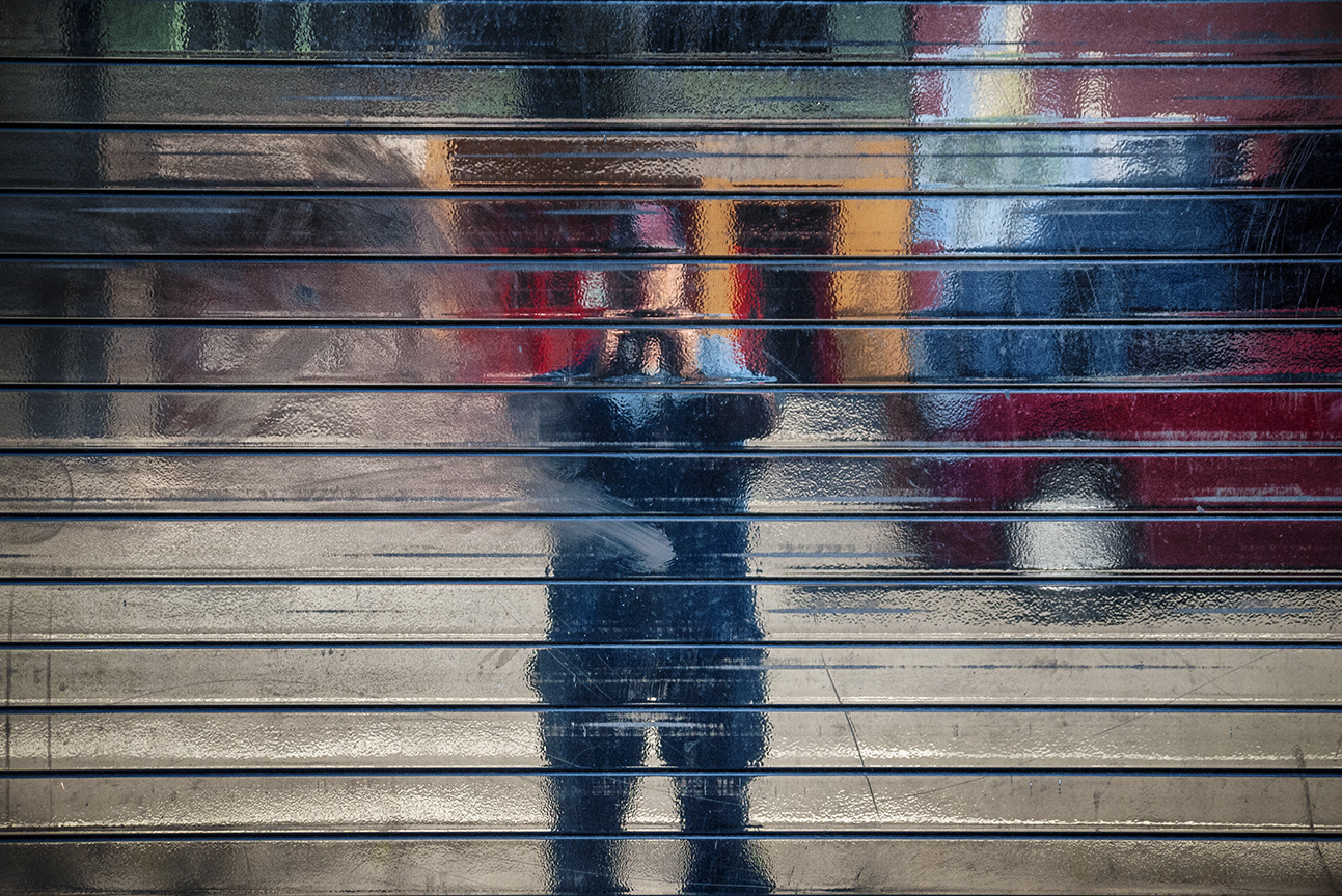 Folsom Street Self-Portrait