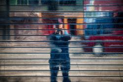 Folsom Street Self-Portrait