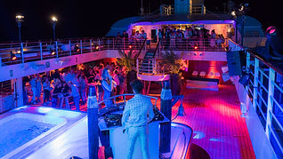 feest organiseren private cruise