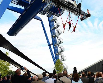 luchtacrobatiek show op maat